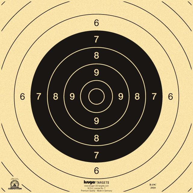 Precision Pistol Training @ AAF&G Bullseye Range